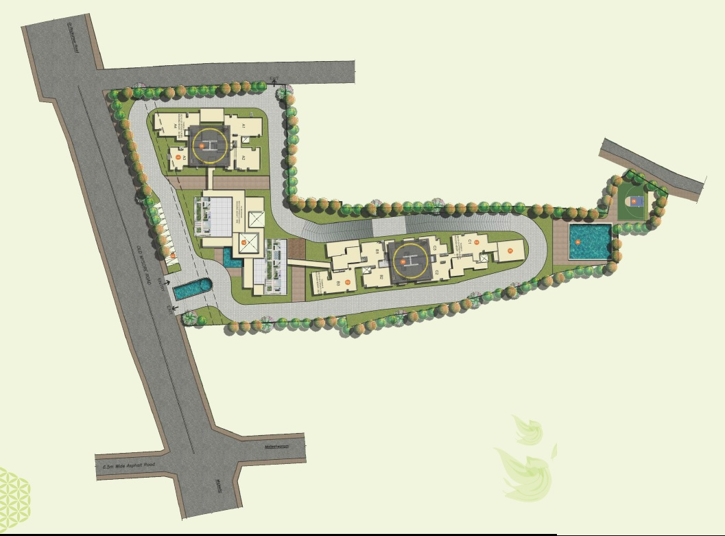 jain heights palaash master plan image4