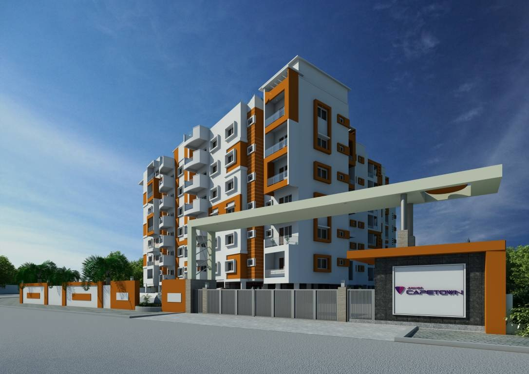 jhanavi capetown heights project tower view1