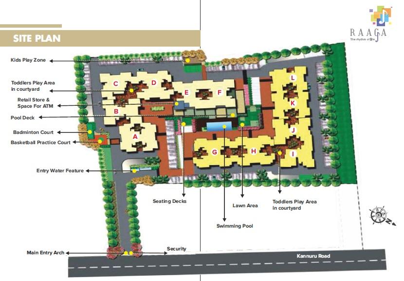 kolte patil raaga project master plan image1