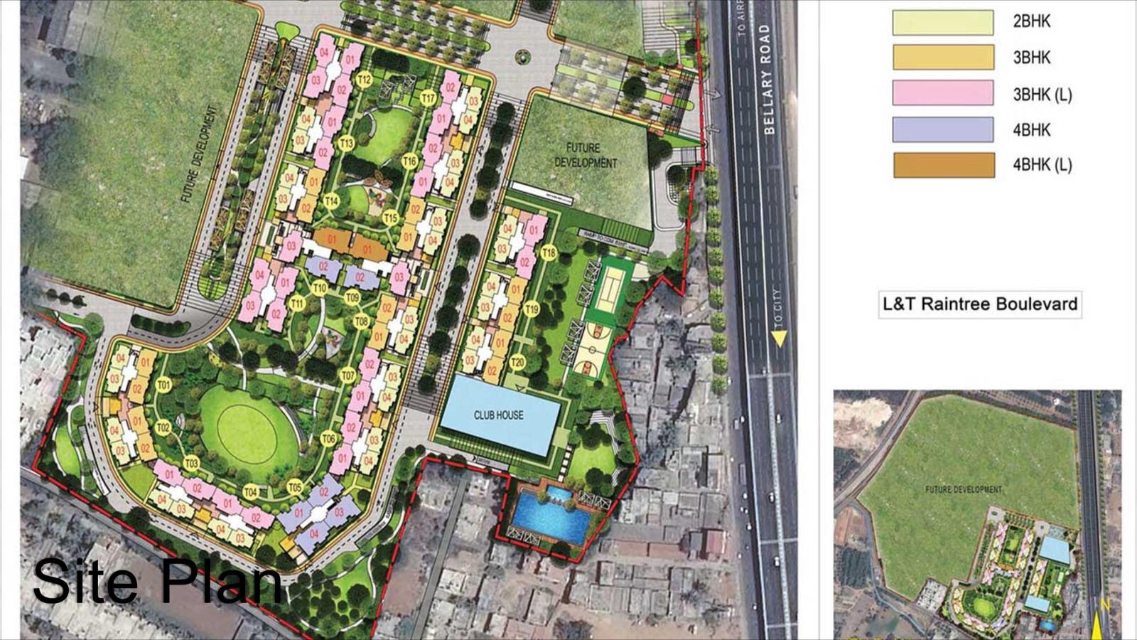 l t raintree boulevard master plan image1