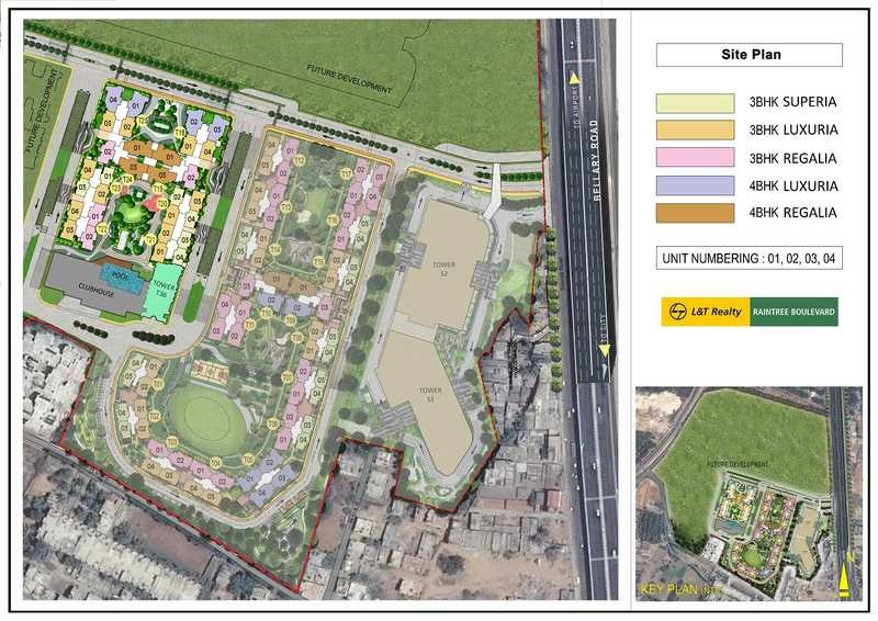 l t raintree boulevard master plan image6