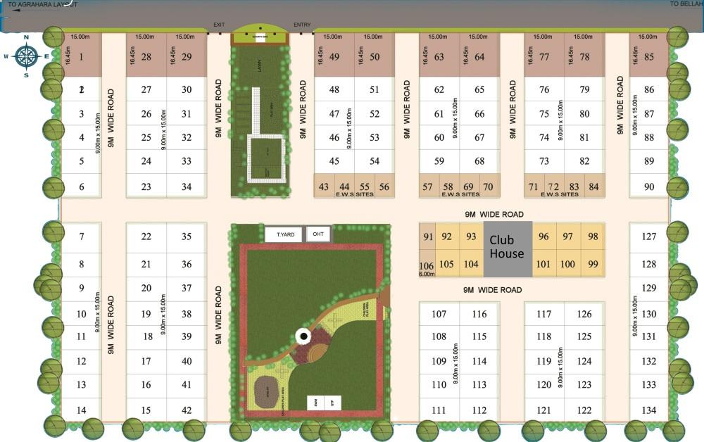 m1 antaliea homes master plan image3
