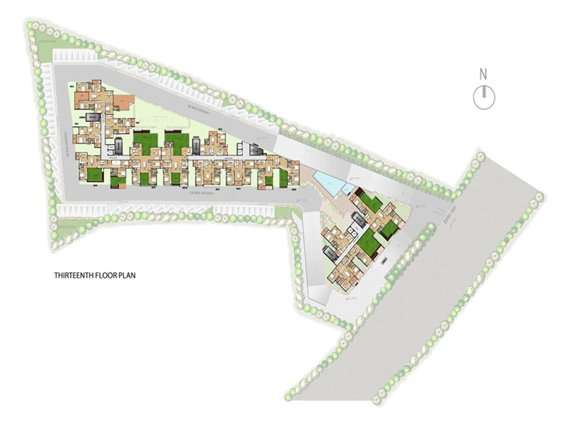 mahaveer green master plan image4