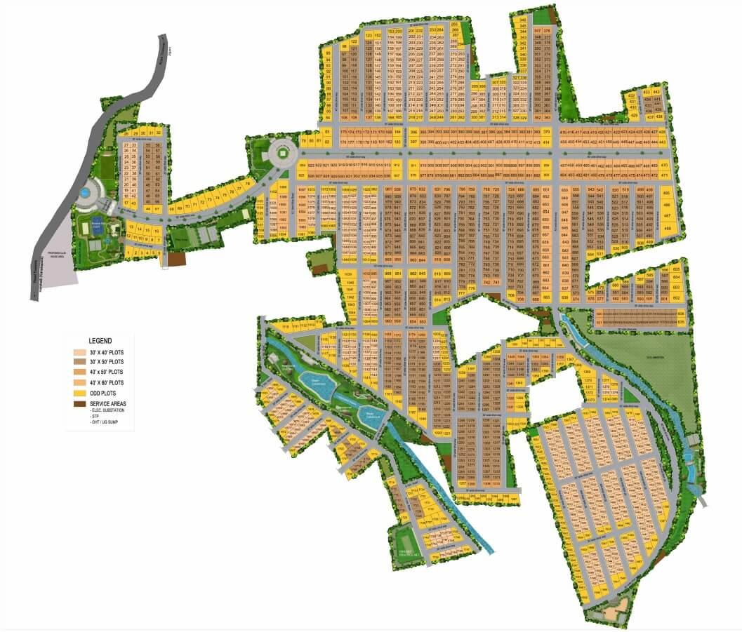 mahaveer palatium master plan image1