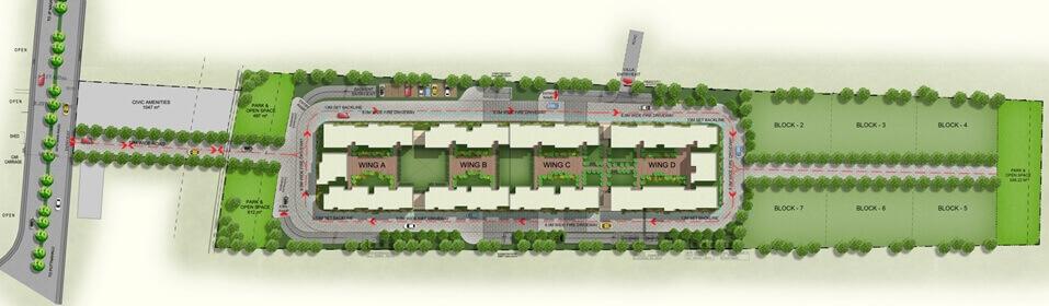 mahaveer sitara master plan image1