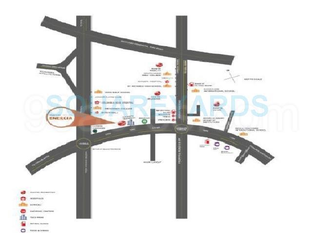 mantri energia location image1