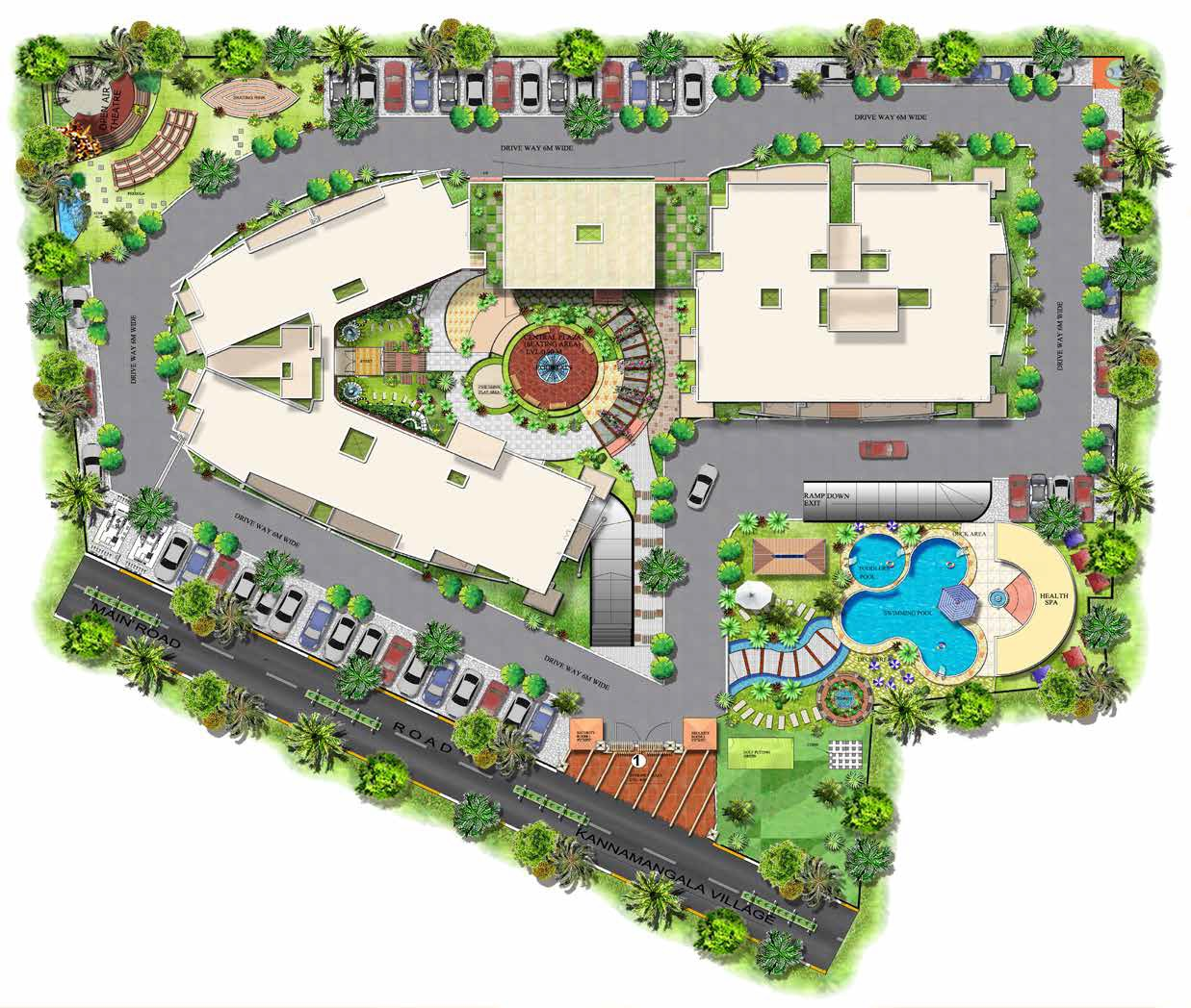 mantri global heights master plan image3