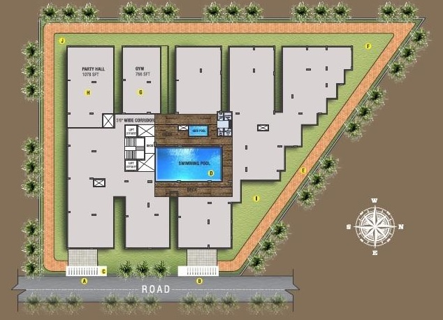 mitraa my gate project master plan image1