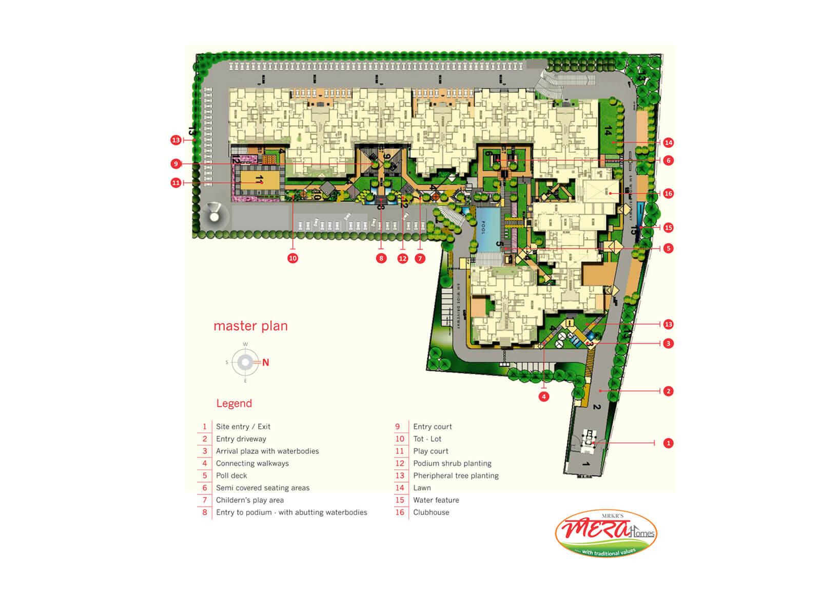 mrkr mera homes master plan image1