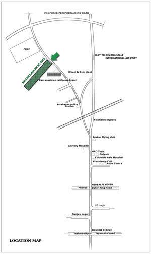 ncc nagarjuna meadows ii location image1