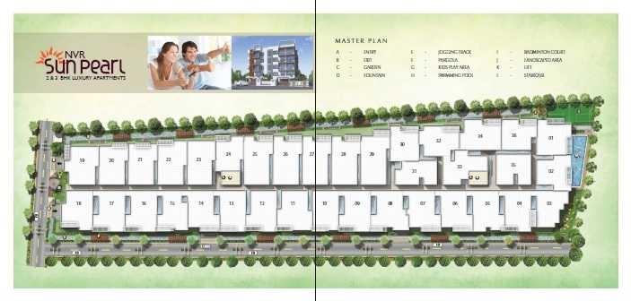 nvr sun pearl block b project master plan image1