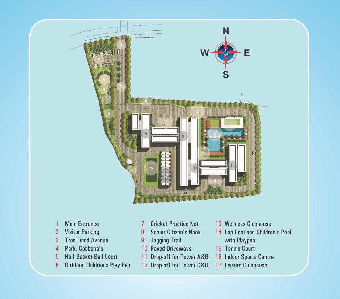 oceanus tranquil apartment master plan image5