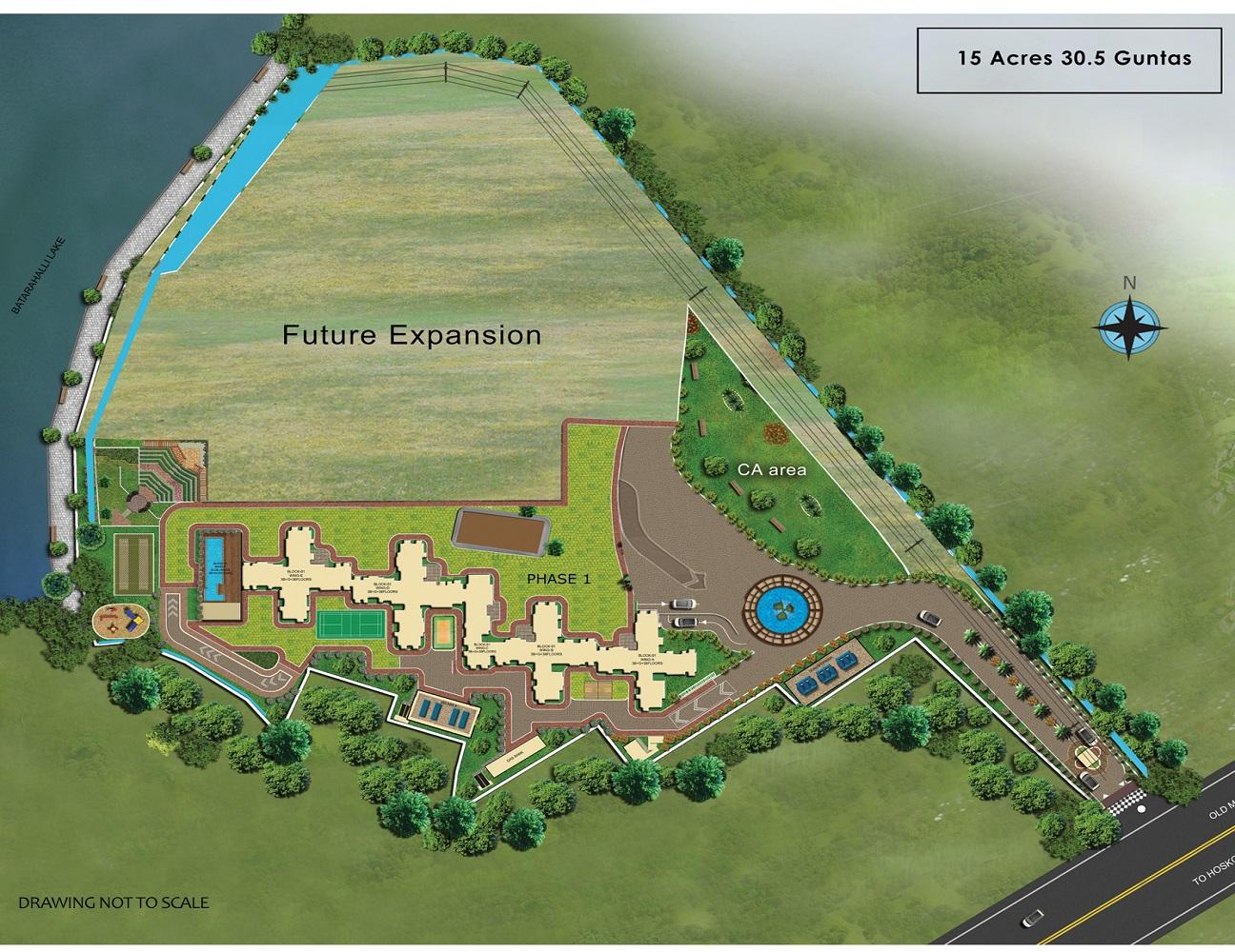 pashmina waterfront project master plan image1