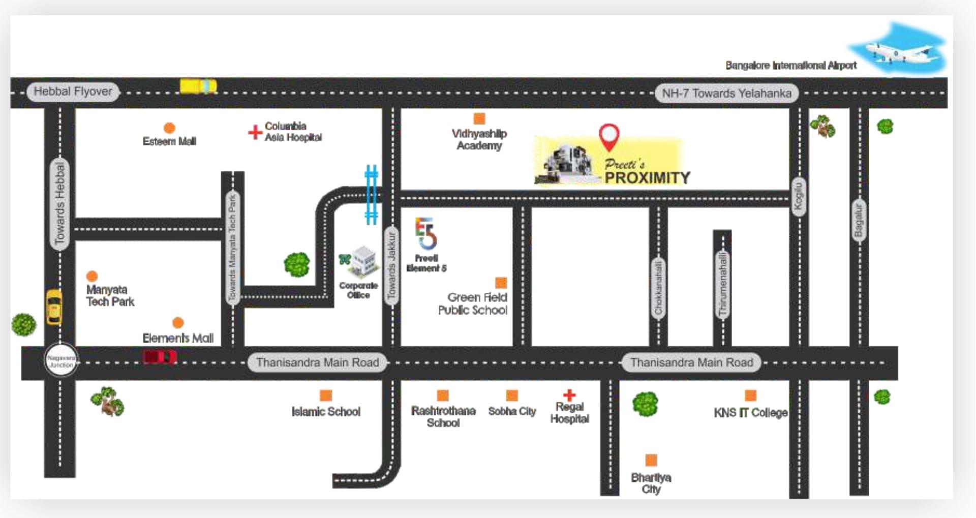 preeti proximity project master plan image2