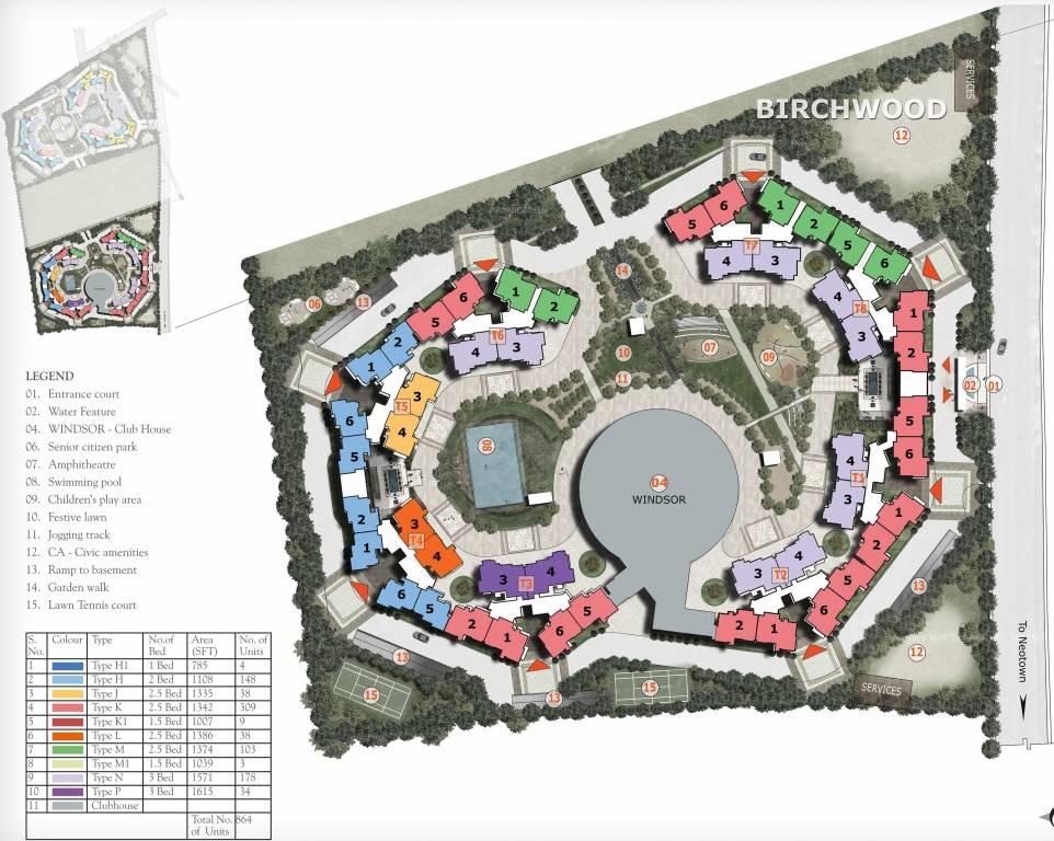 prestige birchwood master plan image3