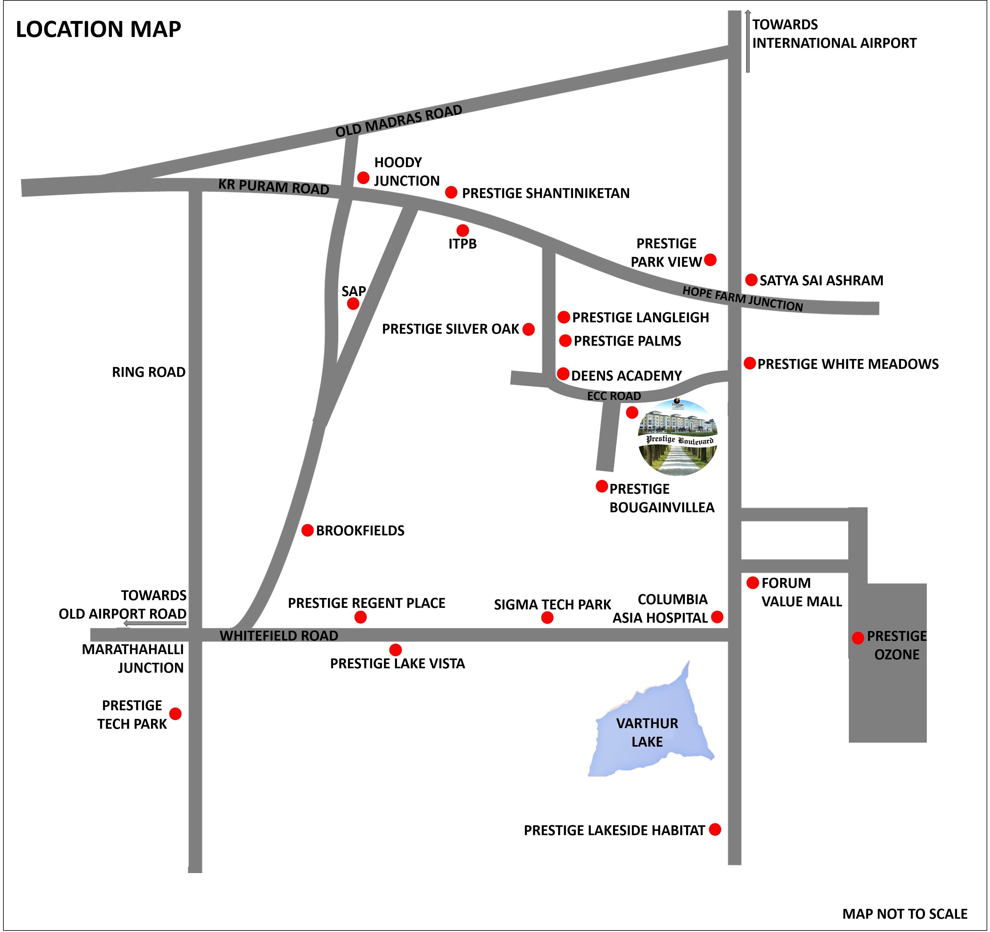 prestige boulevard location image1