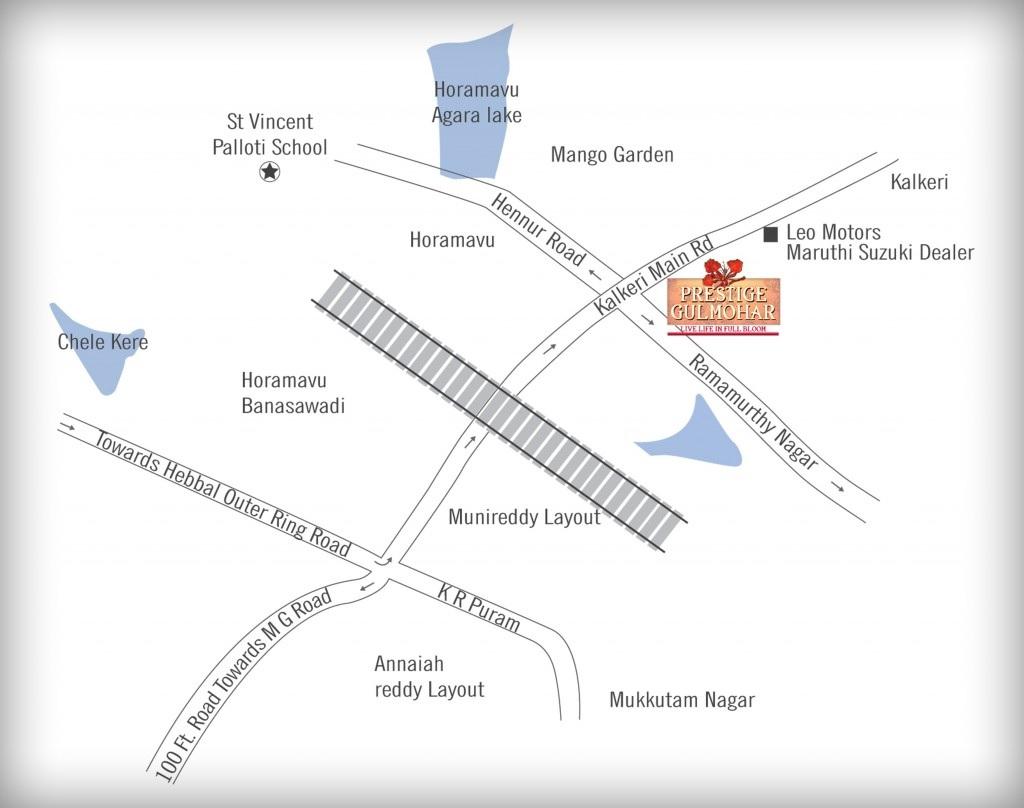 prestige gulmohar location image3
