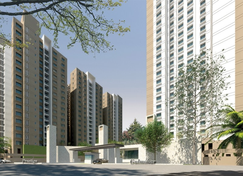 prestige gulmohar tower view10