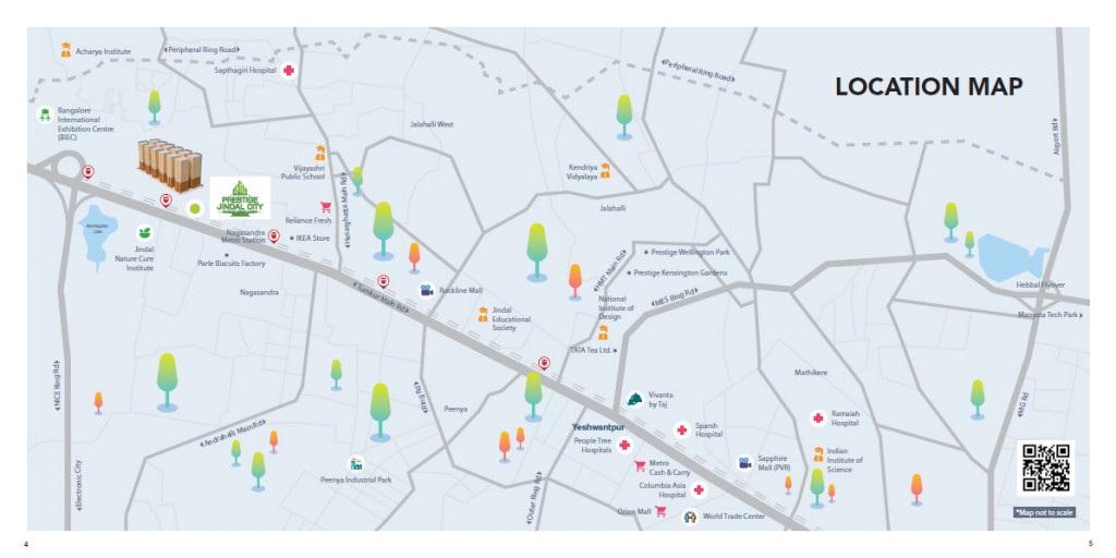 prestige jindal city location image10