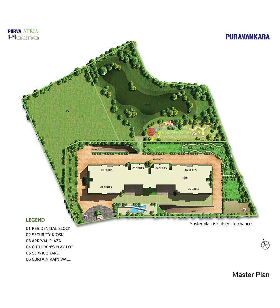 puravankara purva atria master plan image5
