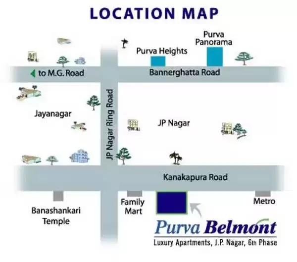 puravankara purva belmont project location image1
