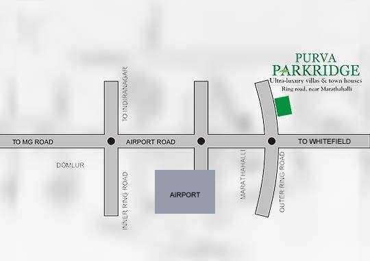 puravankara purva parkridge project location image1