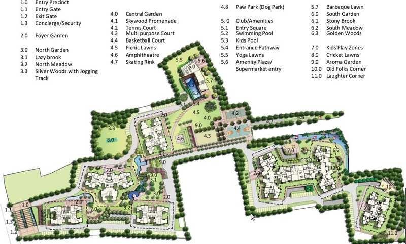 puravankara purva skywood master plan image4