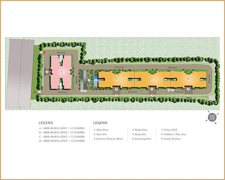 puravankara purva whitehall master plan image5