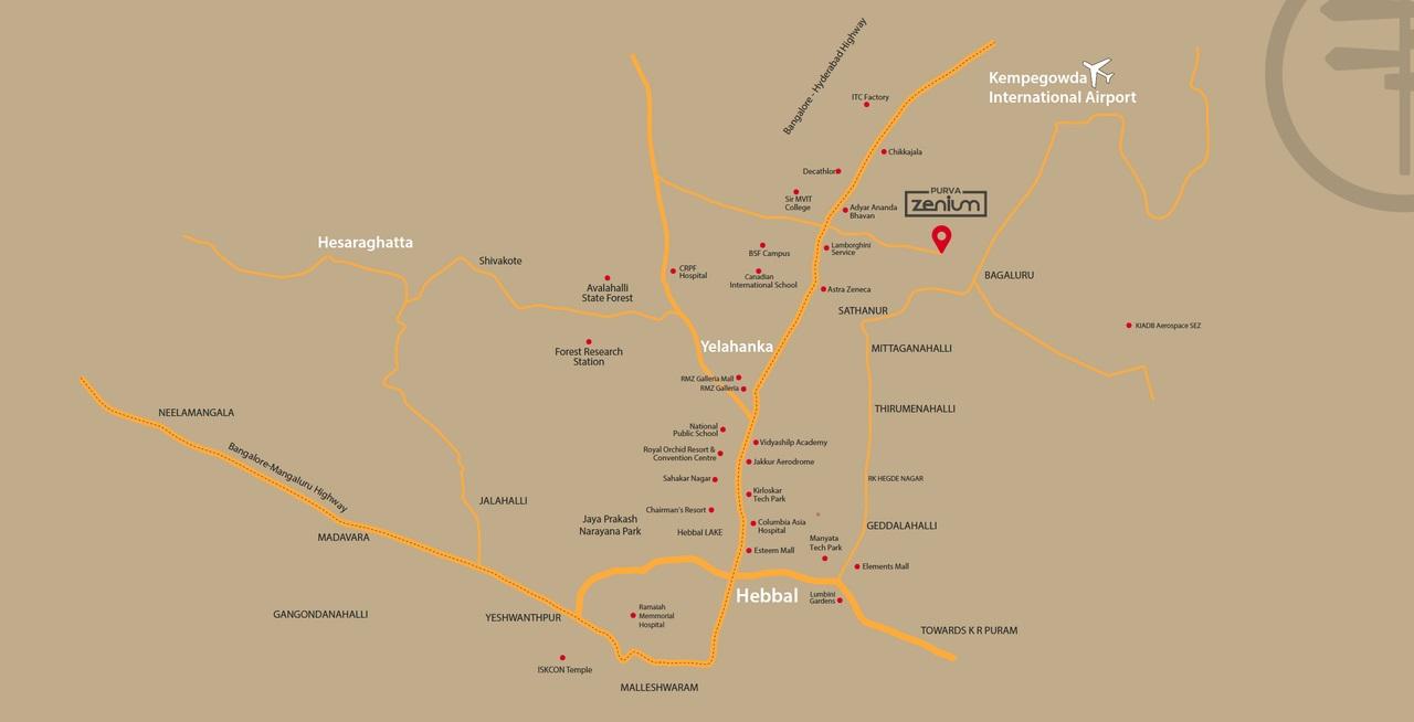 puravankara purva zenium location image5