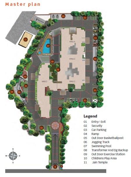 purva limousine homes master plan image5