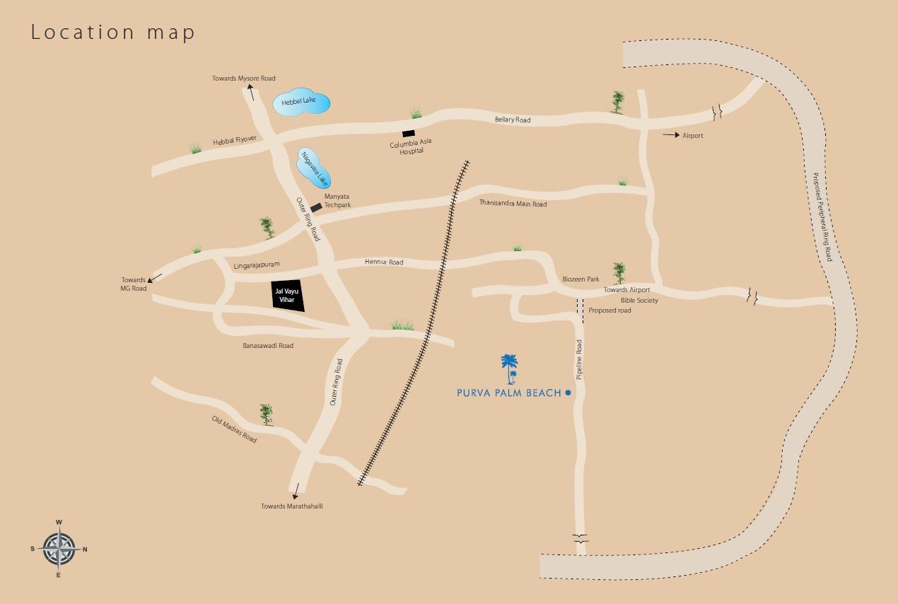 purva palm beach project location image1