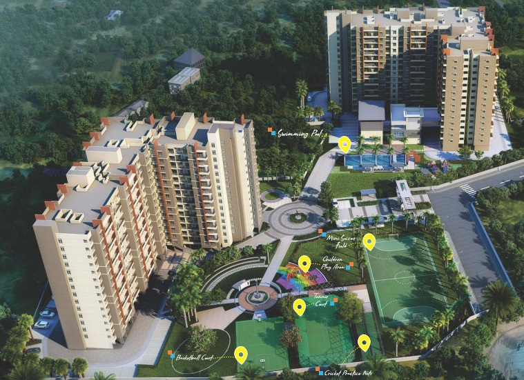 ramky one karnival project tower view1