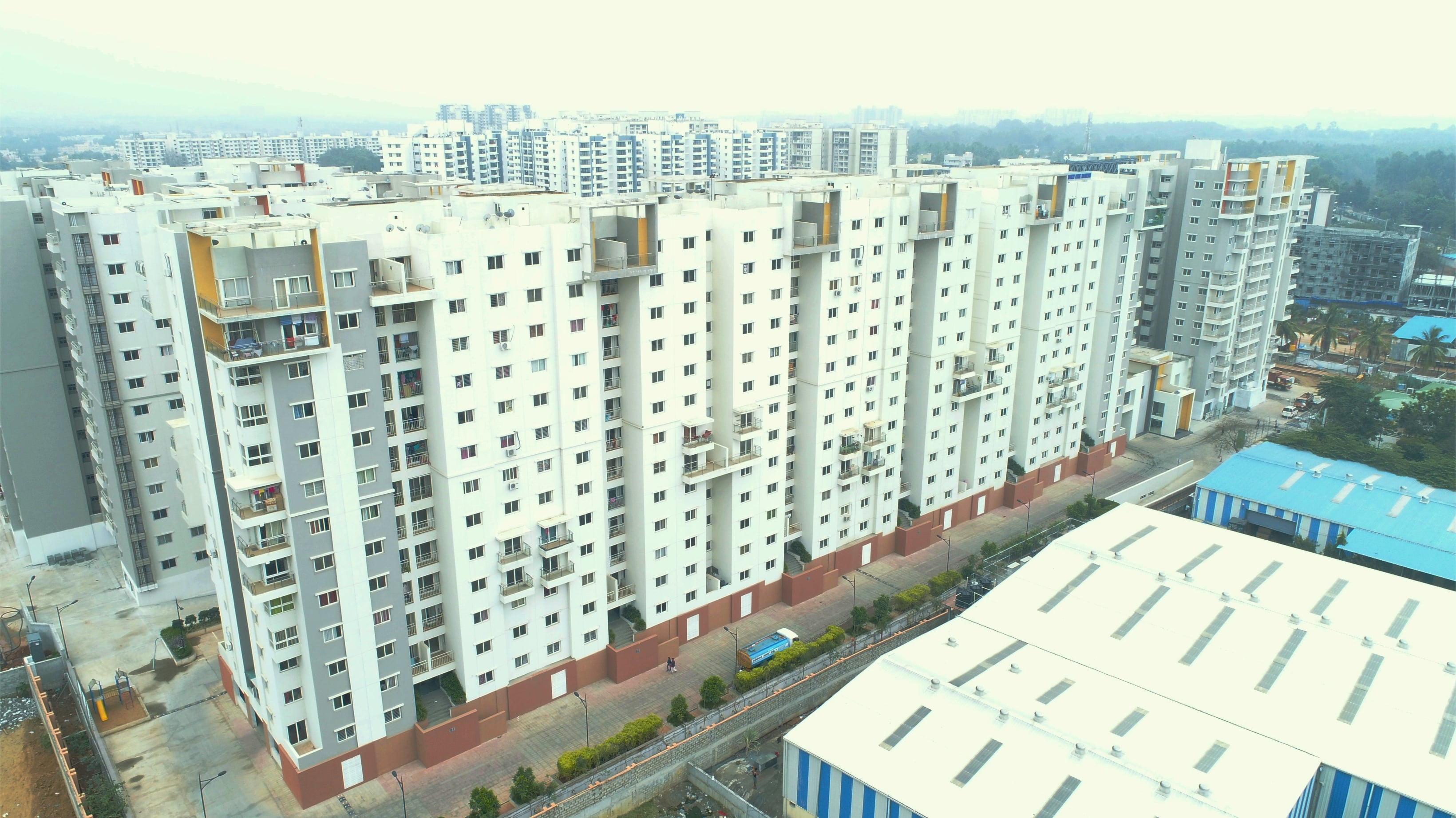 ramky one north phase 3 project tower view2