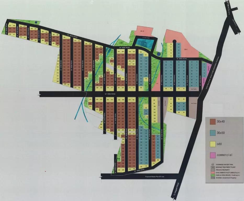 rashi vistara master plan image2