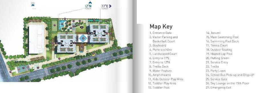 rmz latitude project master plan image1