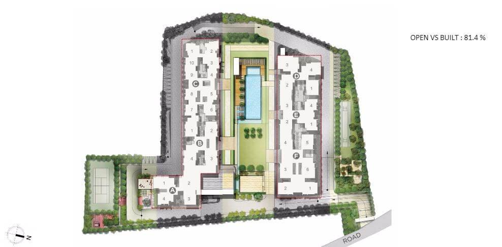 rohan akriti master plan image1