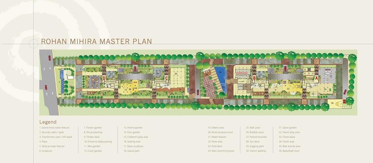 rohan mihira project master plan image1