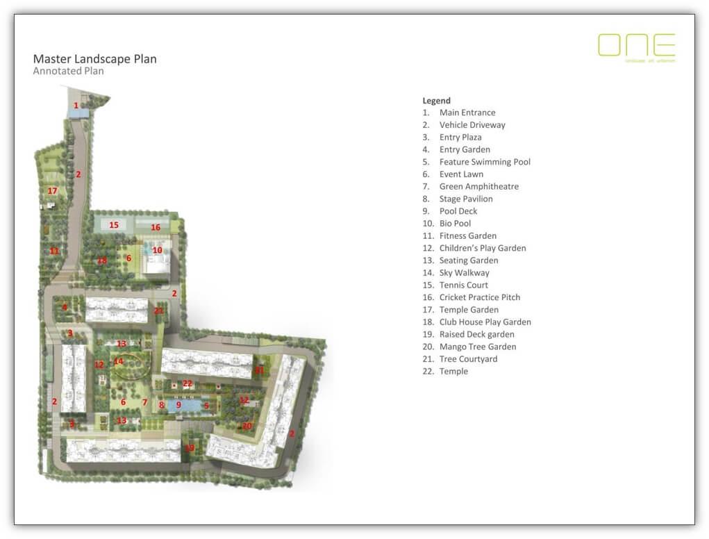 rohan upavan master plan image1