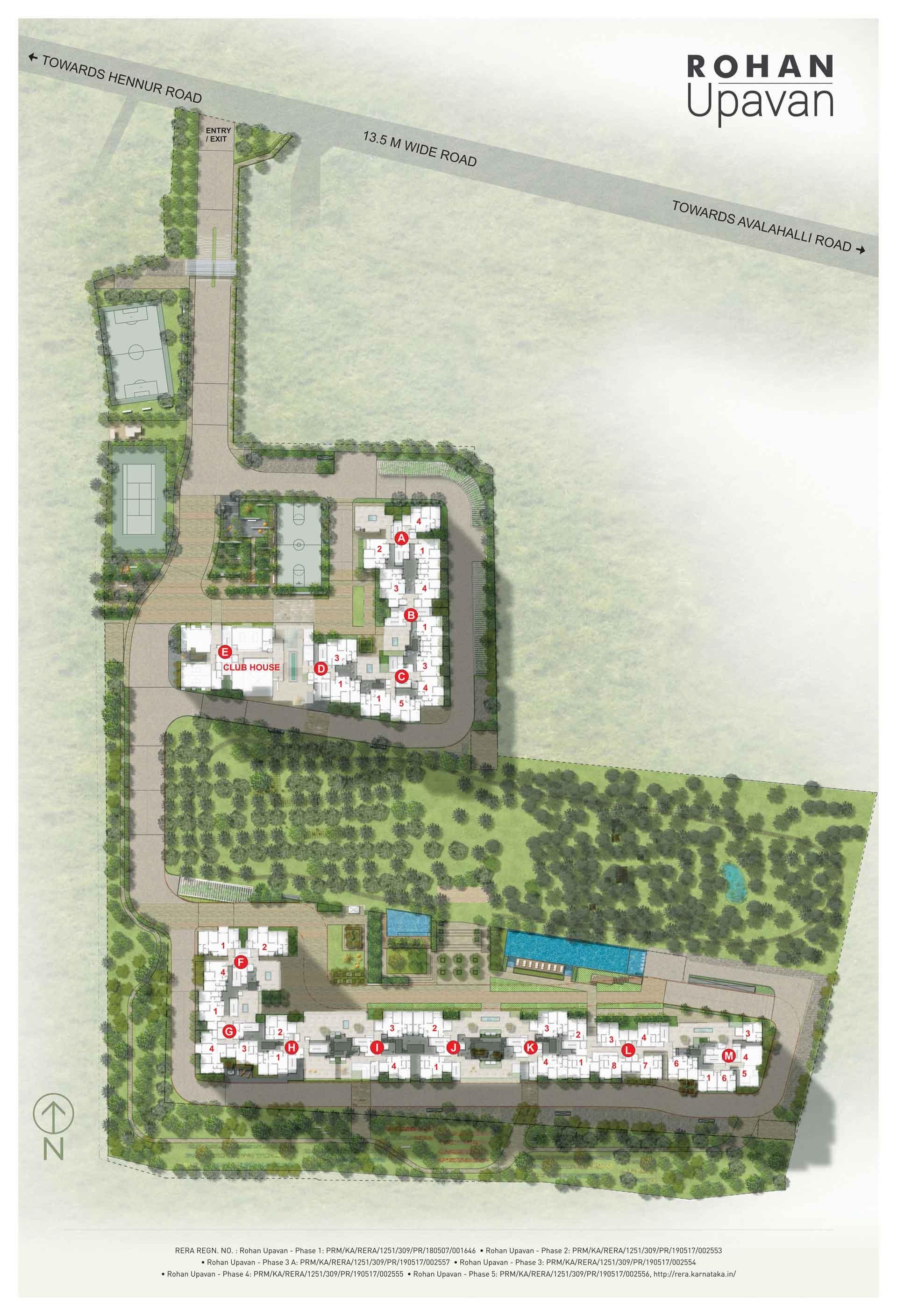 rohan upavan phase iii project master plan image2