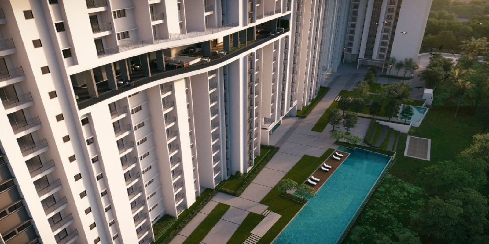 rohan upavan phase v project tower view1
