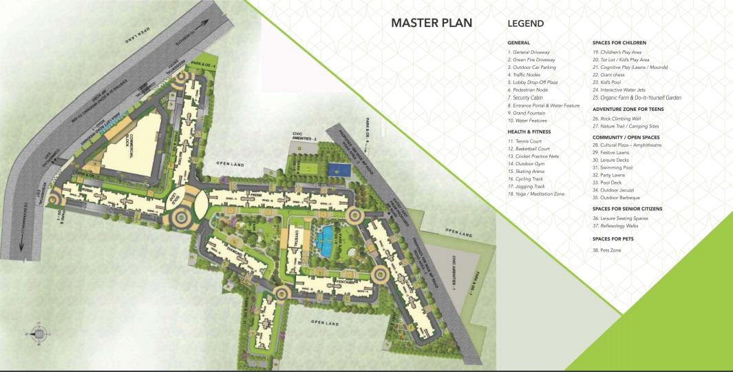 salarpuria sattva park cubix master plan image6