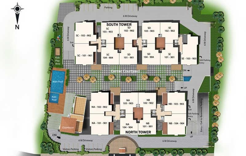 sapthagiri splendor master plan image4