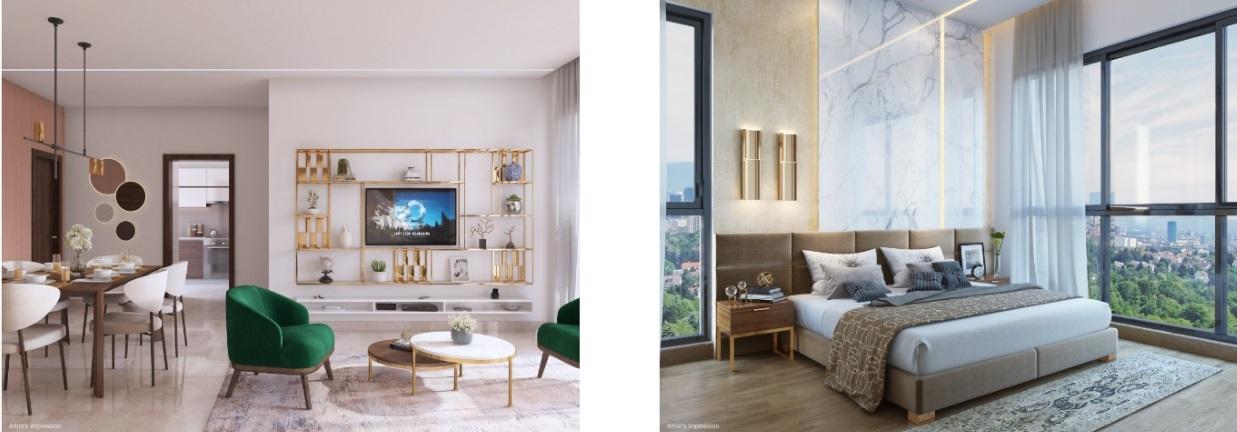 shapoorji codename evolve project apartment interiors2