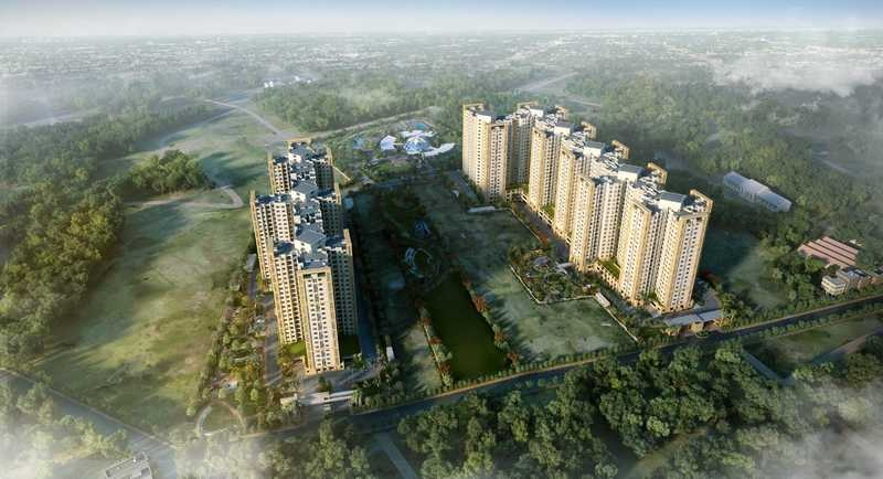 shriram greenfield project tower view3