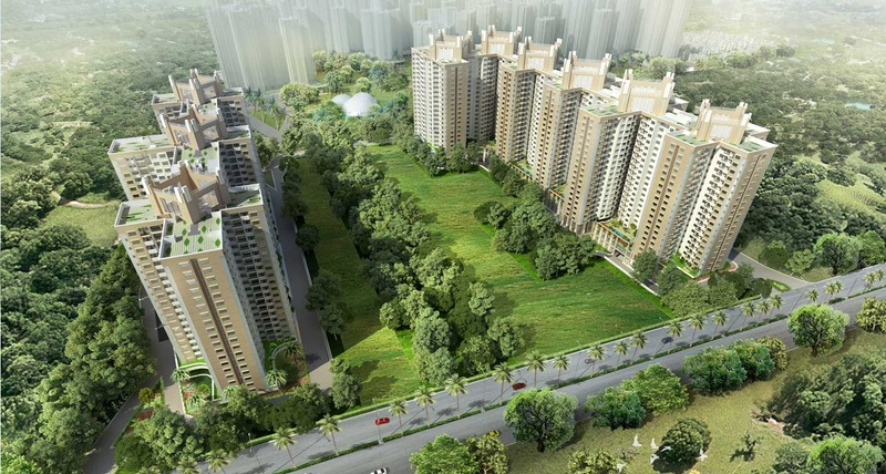 shriram greenfield project tower view6