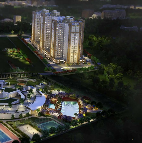 shriram greenfield project tower view7