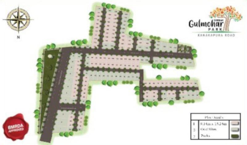 shriram gulmohar park project master plan image1