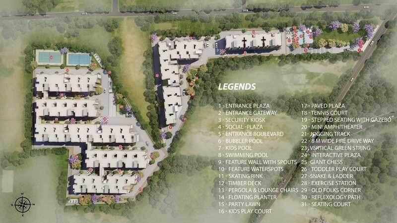 shriram liberty square master plan image1