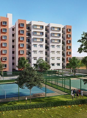 shriram liberty square project tower view2