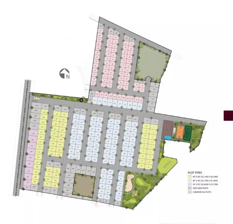 shriram rainforest master plan image5